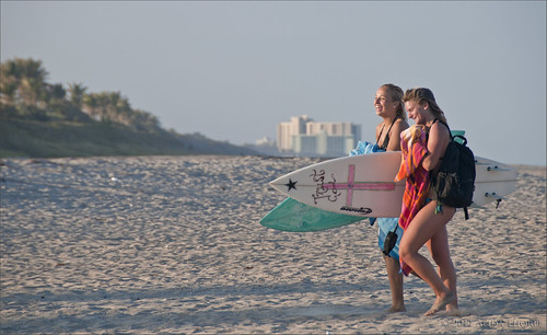 surfer girls by Alida's Photos