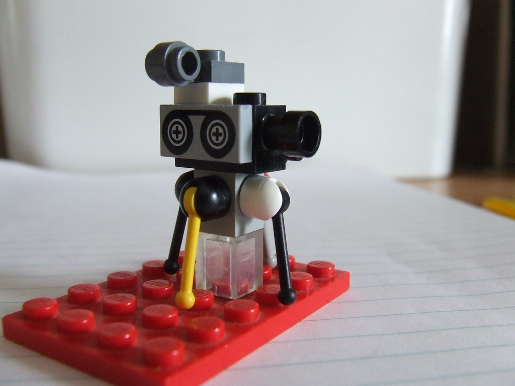 lego movie camera