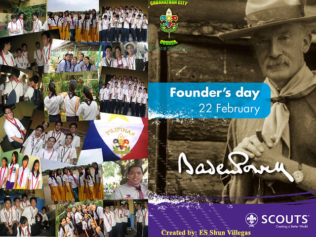 Scout Founders Day