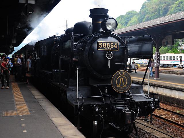 九州 觀光蒸汽火車 SL 58654人吉號