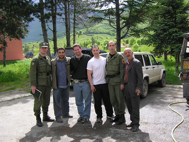 Meeting with Kosovo Liberation Army  KLA