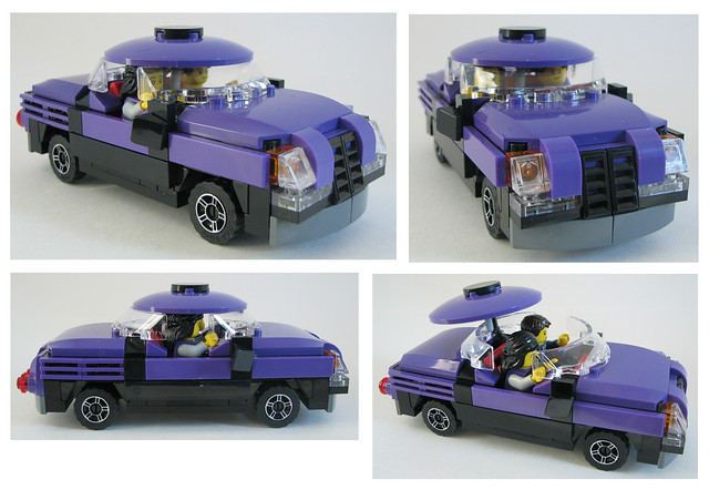 War Machines Strike purple car