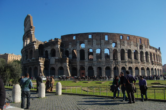 The Roman Colosseum by CC user dnisha on Flickr