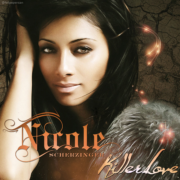 Nicole Scherzinger - Killer Love. Cover Album (Fan-Art)