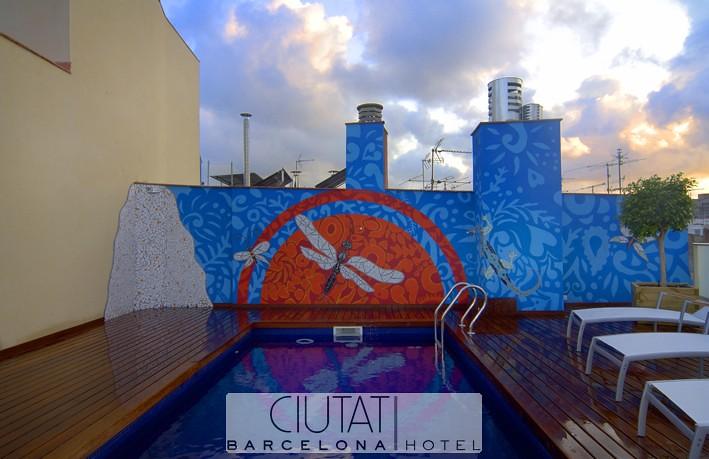 Piscina2 - Hotel Ciutat Barcelona