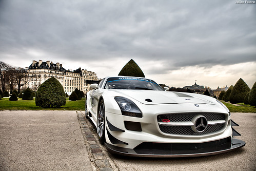 Mercedes SLS AMG Race Car