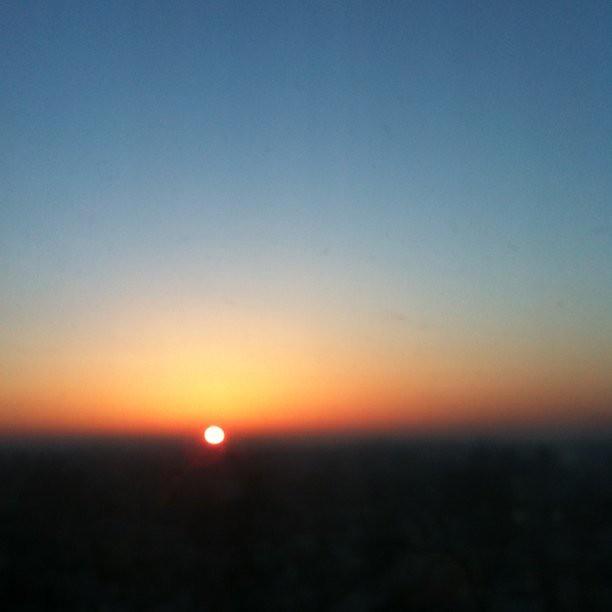 日の出 2011/03/12 sunrise