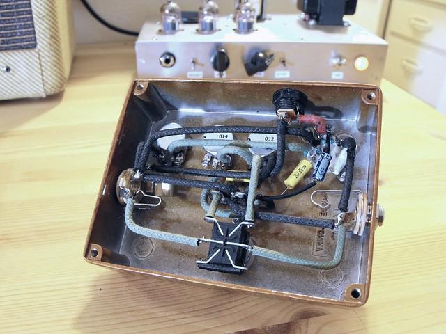 Photo:Valve Caster pedal guts (w/ parts list) By Tim Patterson