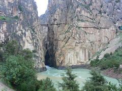 El Chorro Canyon, Spain