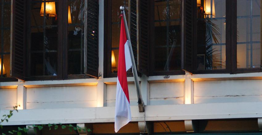Bendera Merah Putih by Agus Pelani