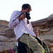 Balancing Photography with Camel Riding - Wadi Rum, Jordan