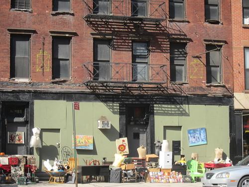 Hell's Kitchen. Mercadillo callejero