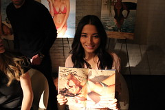 Sports Illustrated Swimsuit Model Jessica Gomes at STK's Autograph Signing Event in The Cosmopolitan of Las Vegas