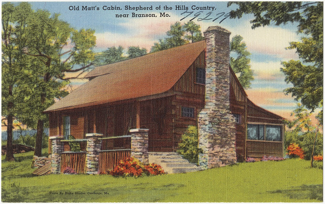 Old matt 39 s cabin shepherd of the hills country near for Cabins near branson mo