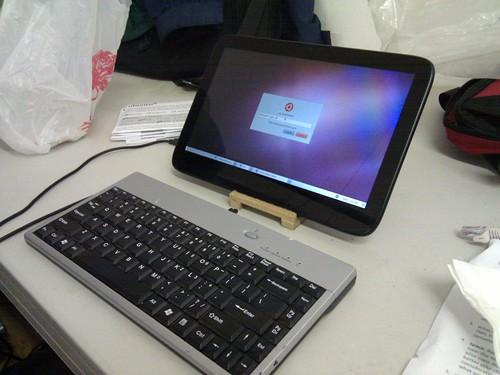 Ubuntu on a tablet