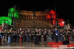 """NOTTE TRICOLORE: """"Canto degli italiani"""""""