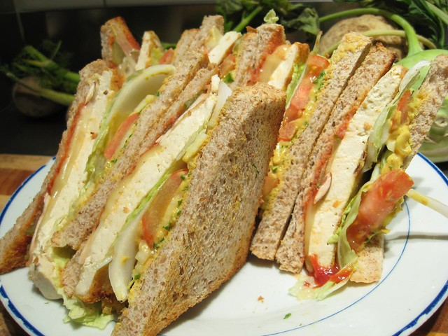 club sandwich | with grilled tofu | By: Seph Swain | Flickr - Photo ...