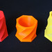 Makerbot 7-Sided Shot Glasses