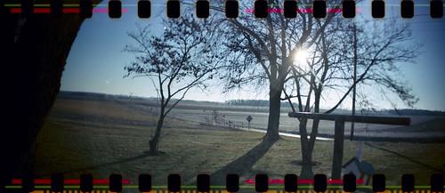 winter ohio panorama sunrise lomo lomography sprocketrocket