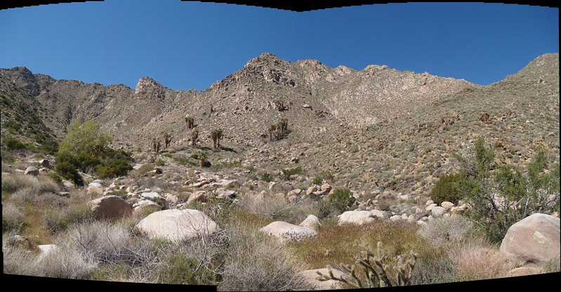 Panorama of the Valley of the Thousand Springs