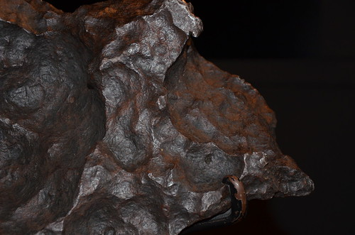 Part of the Gibeon Meteorite at the Greenwich Observatory