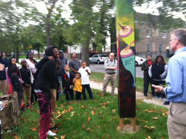 Chicago, IL Precious Bloog Ministry - Peace Circle CNV Action 2016 (2)