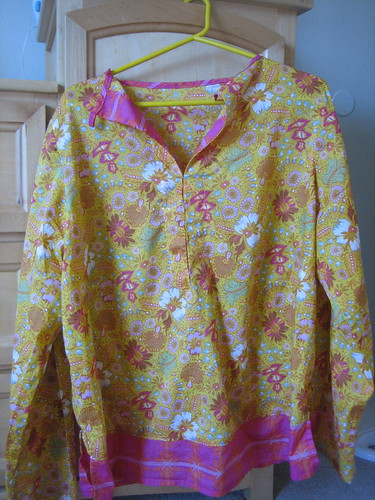 Heather Ross Weekend Sewing Summer Blouse