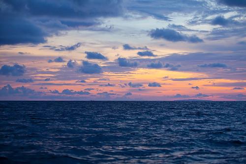 sunset sea island philippines boracay 海 日落 岛 菲律宾 长滩