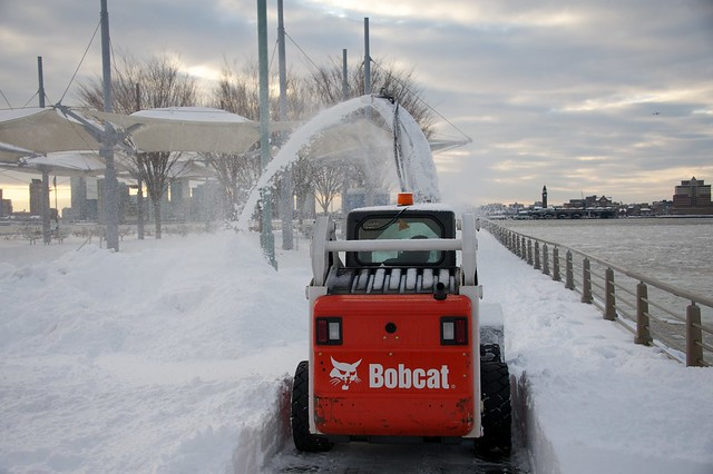 they even plow the bike paths and pedestrian walkways ;)