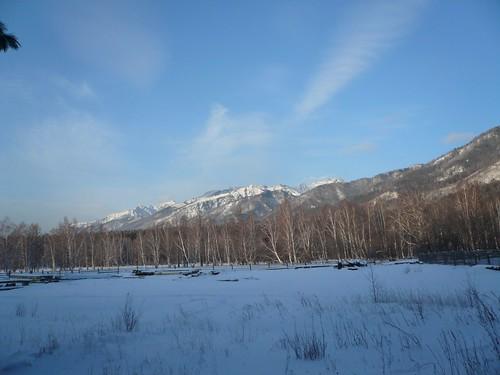 Paysage de Sibérie
