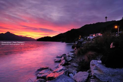 sunset newzealand nikon nz queenstown 日落 lakewakatipu 紐西蘭 皇后鎮 d300s