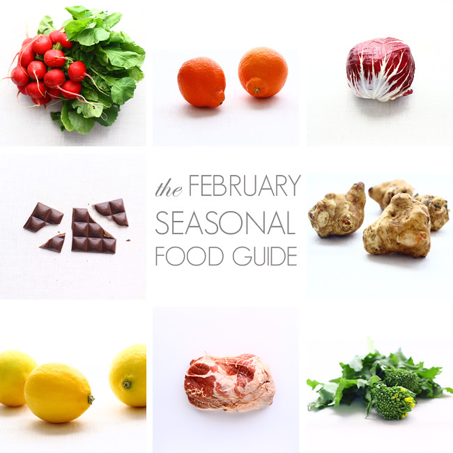 February Seasonal Food Guide