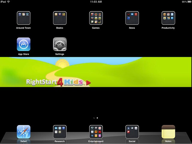 iPad RMHC_0001 Screenshot (lots of apps)