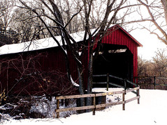 barn, building, hut, winter, snow, shack, sugar house,