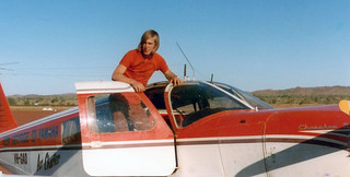 Final re-supply flight from Halls Creek - 1974
