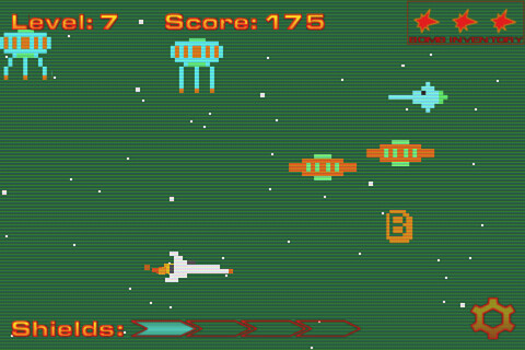 Interstellar Force: Lost in 8-Bit space