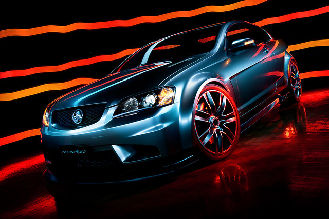 Light Painting the Coupe60