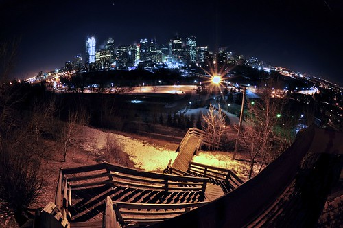 Calgary from Cresent Heights