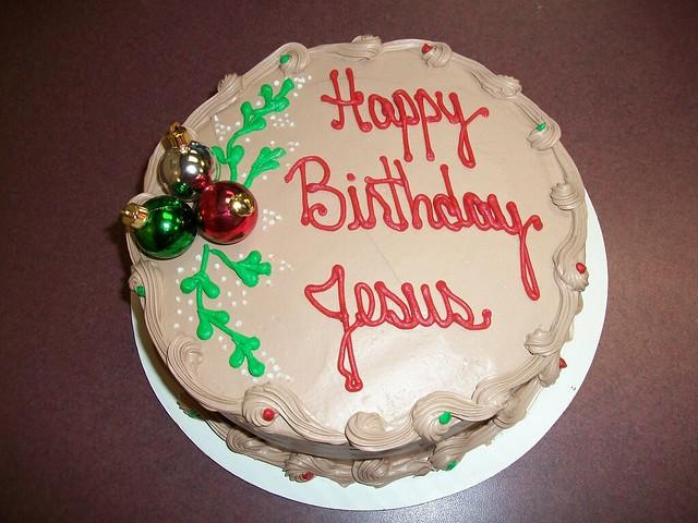 Jesus Birthday Cake Images : photo