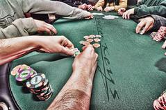 Poker hands.