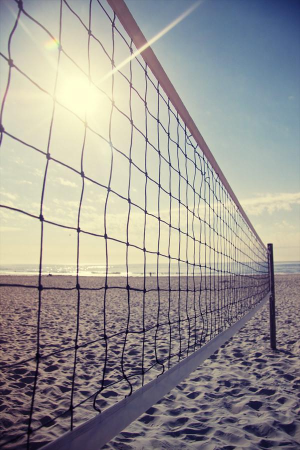 Beach Volleyball on Nobbys Beach
