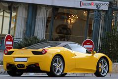 Yellow 458 italia