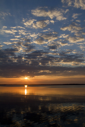 sunset florida doc saintjohnsriver coleecove