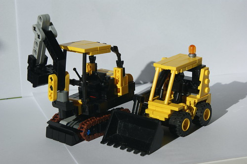 Mini digger & Skid steer