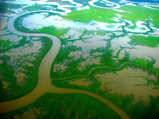Mitchell River delta