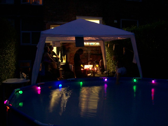 Pool party at night | Flickr - Photo Sharing!