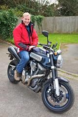 Rob on motorbikes