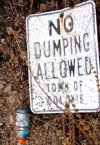 No Dumping Allowed