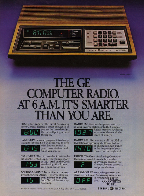 Vintage Ad #1,467: My Computer Radio Is Smarter Than Me!