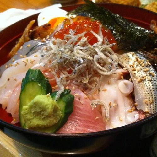 海鮮丼きたぁ!